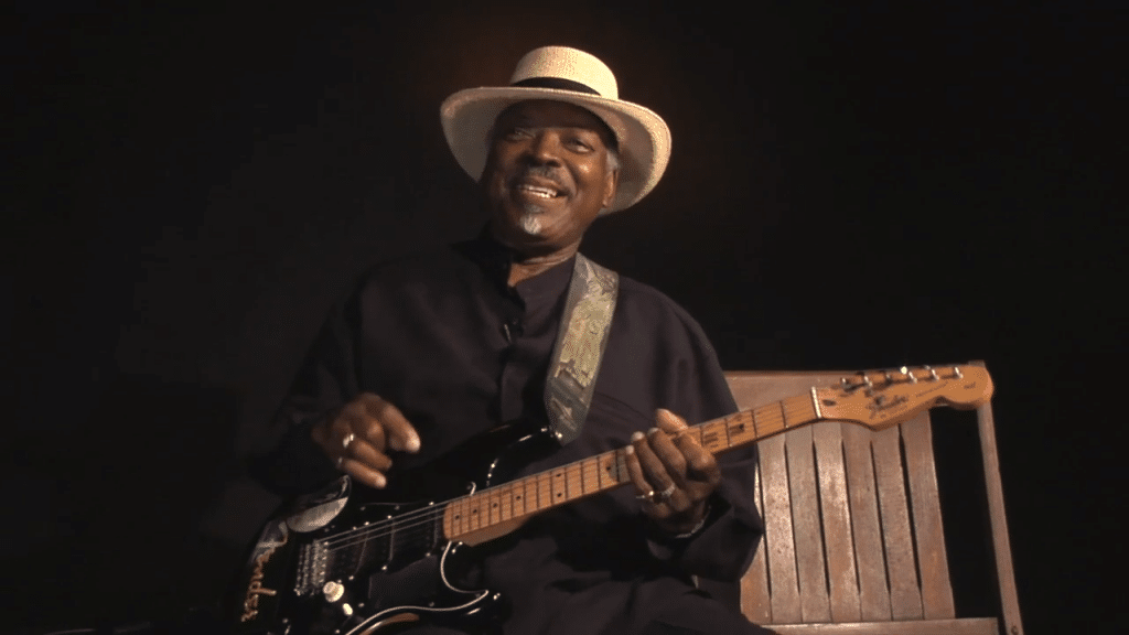 Chicago blues Smilin' Bobby sits down with us to talk about how he is able to put a smile on most people who see him.