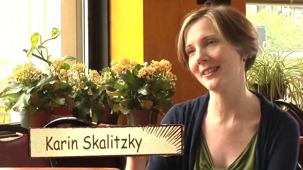 Karin Skalitzky is a everyday hero. She has created a restaurant to feed homeless.