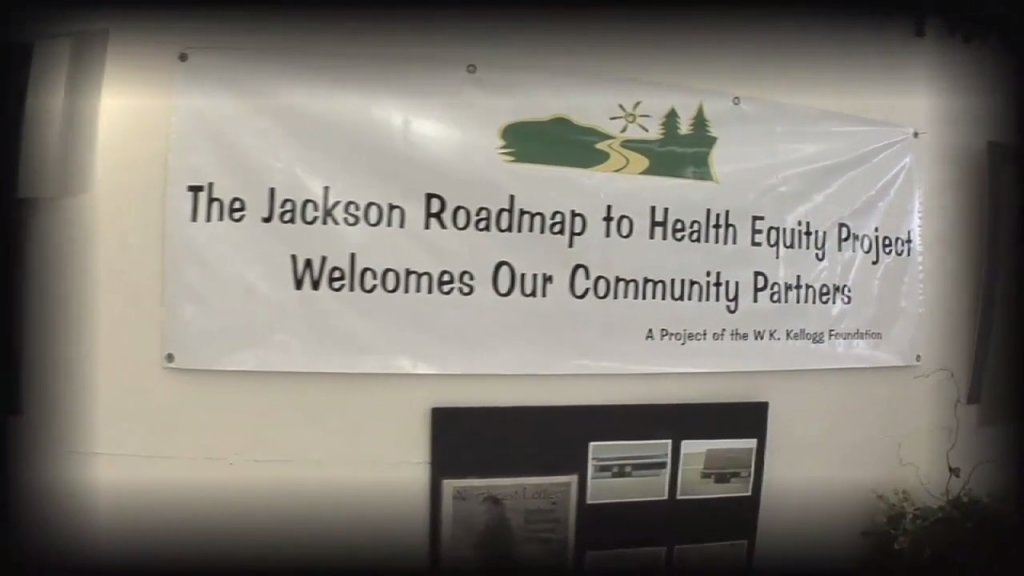 City of Jackson healthy project sign