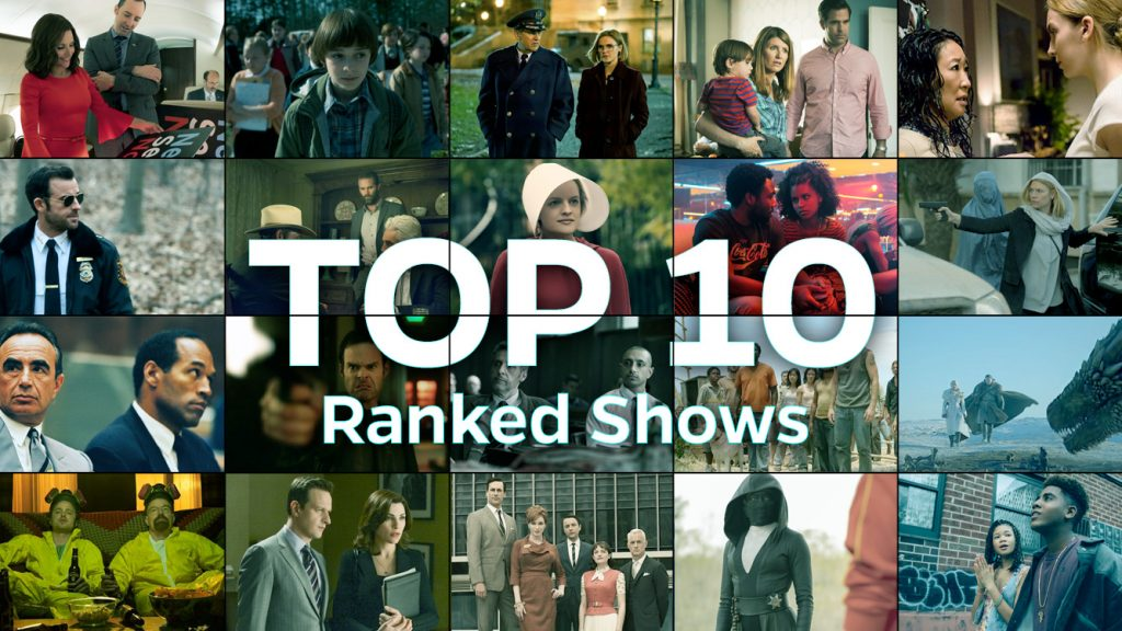 Top 10 rated tv shows.