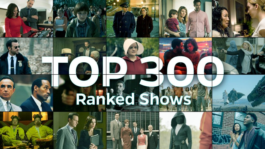 These are the top 300 shows of the TV show countdown.