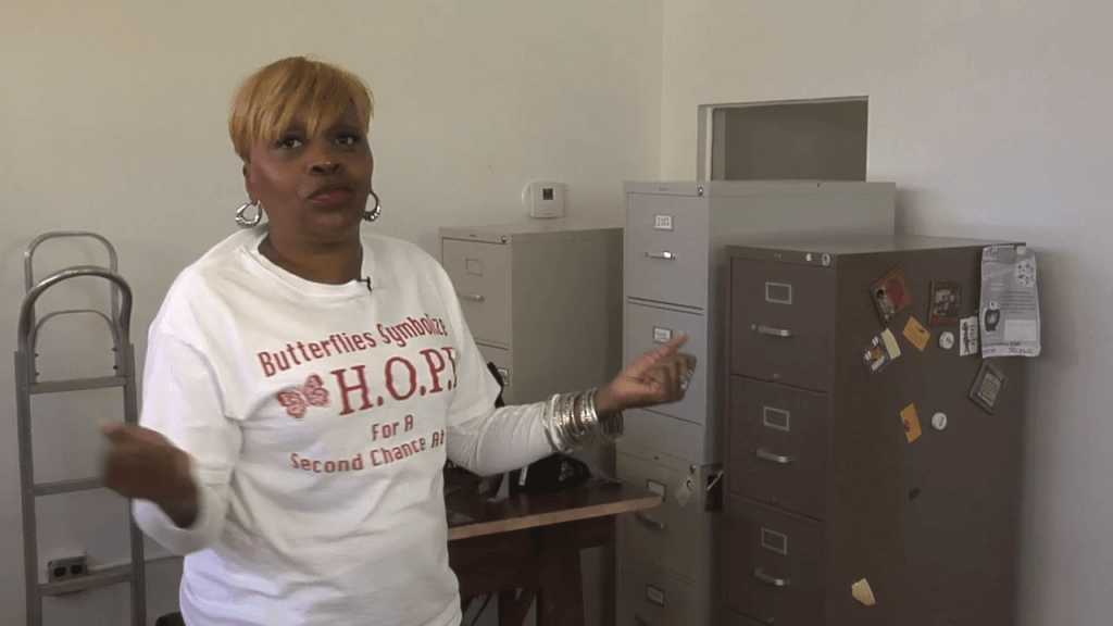 Sheryl created H.O.P.E. to give other women a second chance to prove themselves.